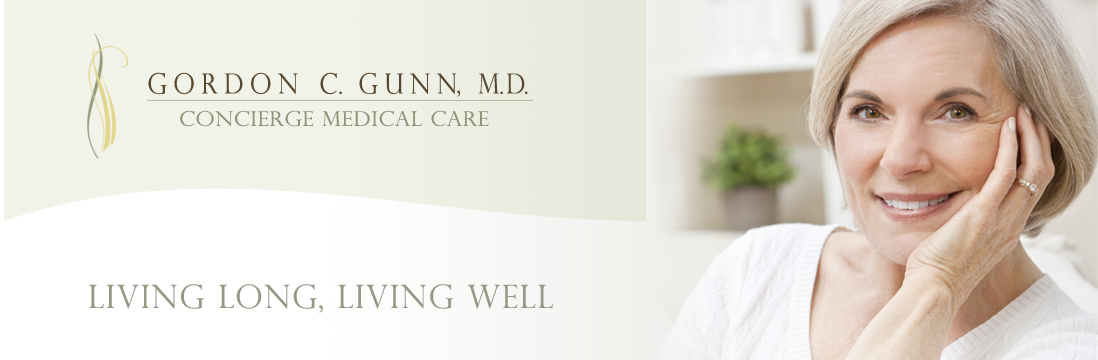 Dr. Gunn offers Lifestyle Longevity Program